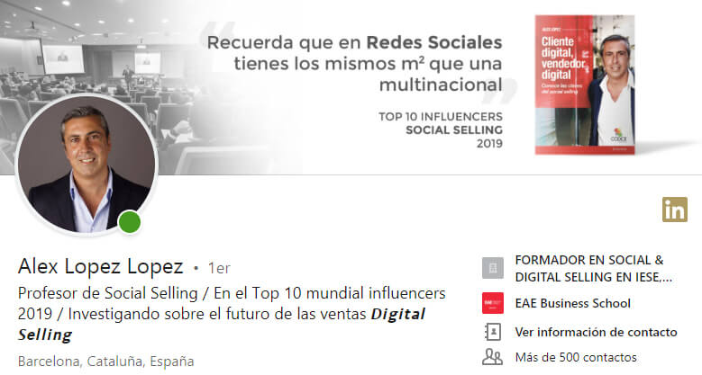 Referentres de Social Selling y Linkedin